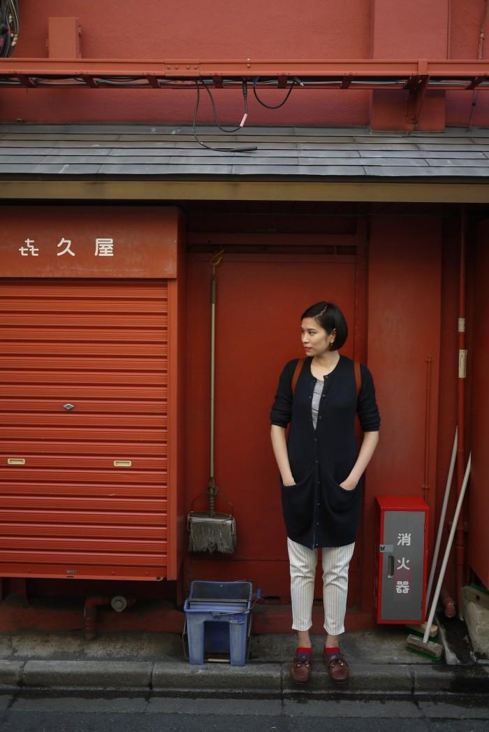 back alley in tokyo senso ji